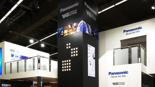 Messe-Pro Messebau Frankfurt Doppelstock Messestand Light+Building