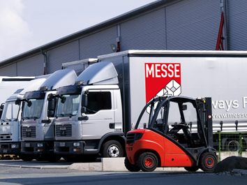 Messe-Pro Messebau international Logistik